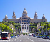 National Art Museum of Catalonia in Barcelona Royalty Free Stock Images