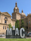 National Art Museum of Catalonia in Barcelona Royalty Free Stock Photography