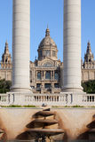 National Art Museum of Catalonia in Barcelona Stock Photos