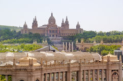 National Art Museum of Catalonia in Barcelona, Spain Royalty Free Stock Photo