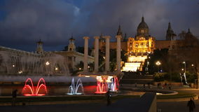 National Art Museum of Catalonia stock video footage