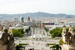 National Art Museum of Catalonia - Barcelona - Spain royalty free stock photos