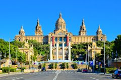 National Art Museum of Catalonia, Barcelona, Spain Stock Photos