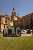 National Art Museum of Catalonia Royalty Free Stock Photography