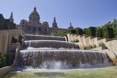 National Art Museum of Catalonia Royalty Free Stock Image