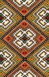 National art of Ukraine. National ukraine art of pattern embroidery,part of the interior stock photography