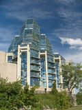 National Arts Gallery of Canada. A beautiful glass building stock photography