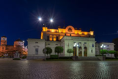National Assembly and Alexander Nevsky Cathedral in Sofia, Bulgaria Stock Images