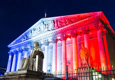 The National Assembly(Bourbon palace), Paris, France. Royalty Free Stock Images