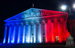 The National Assembly(Bourbon palace), Paris, France. Stock Images