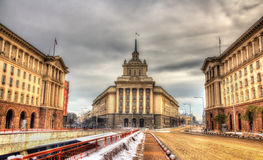 National Assembly building in Sofia Stock Image