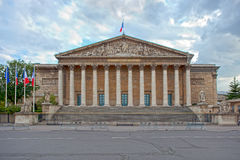 National Assembly of France Stock Images