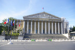 National Assembly or Palais Bourbon Stock Photos