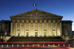 National assembly, Paris. National assembly in Paris, France royalty free stock image