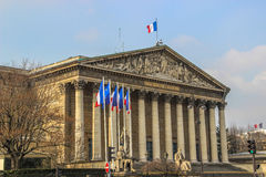 National Assembly, Paris, France. National Assembly in Paris, France Royalty Free Stock Photos