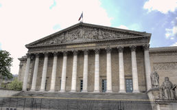 National Assembly. Paris, France Stock Image