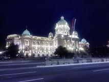 National Assembly of Serbia Royalty Free Stock Image