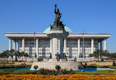 The national assembly of South Korea Stock Photography