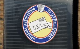 National Association of Letter Carriers AFL-CIO royalty free stock image