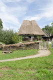 National Astra Museum in Sibiu - Old traditional house ( many styles and forms ) Royalty Free Stock Photo