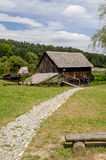 National Astra Museum in Sibiu - Old watermill Royalty Free Stock Photography