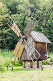 National Astra Museum in Sibiu - Old windmill Stock Photo
