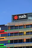 National Australia Bank NAB logo Royalty Free Stock Photo