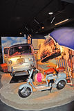 National Automobile Museum in Turin Stock Image