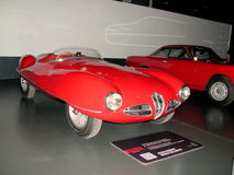 National Automobile Museum in Turin Royalty Free Stock Images