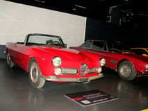 National Automobile Museum in Turin Royalty Free Stock Photo