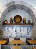 National Azulejo Museum in Lisbon. Portugal Stock Photography