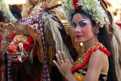 National Balinese dance Barong Royalty Free Stock Photos