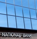 national bank Fotografia Stock