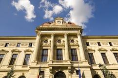 National Bank av Rumänien Arkivfoto