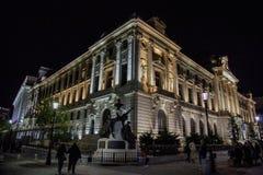 National Bank av Rumänien Fotografering för Bildbyråer