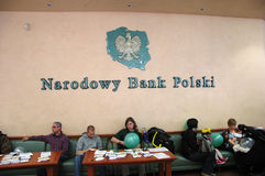 National Bank of Poland Stock Photography