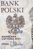 National bank of Poland Royalty Free Stock Photo