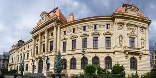 The National Bank of Romania BNR royalty free stock photography