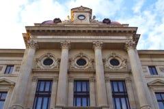 The National Bank of Romania. stock photos