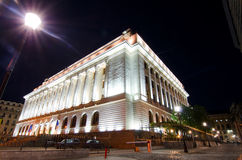 National Bank van Roemenië Stock Foto