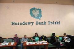 National Bank von Polen Stockfotografie