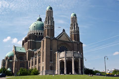 National Basilica of Koekelberg, Brussels Royalty Free Stock Photo