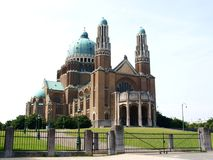 The National Basilica of Koekelberg Stock Photo