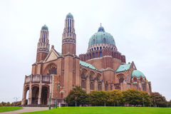 National Basilica of the Sacred Heart in Koekelberg Stock Photos