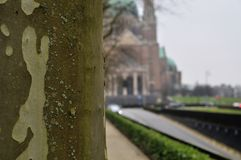 National Basilica of the Sacred Heart in Koekelberg, Brussels Stock Photo