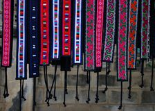 National belts of hills tribes. Stock Photography