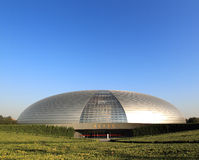 The national big theater of china Royalty Free Stock Images