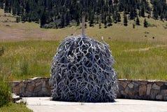 National Bison Range_oldest wildlife refuges Royalty Free Stock Image