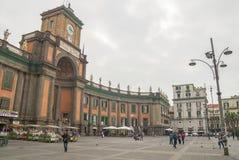 National Boarding School-Convitto Nazionale Vittorio Emanuele II,Naples Royalty Free Stock Photo