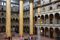 National Building Museum in Washington, DC Royalty Free Stock Images